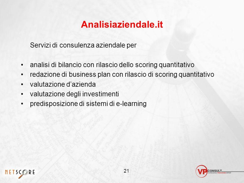 Analisiaziendale.it Servizi di consulenza aziendale per