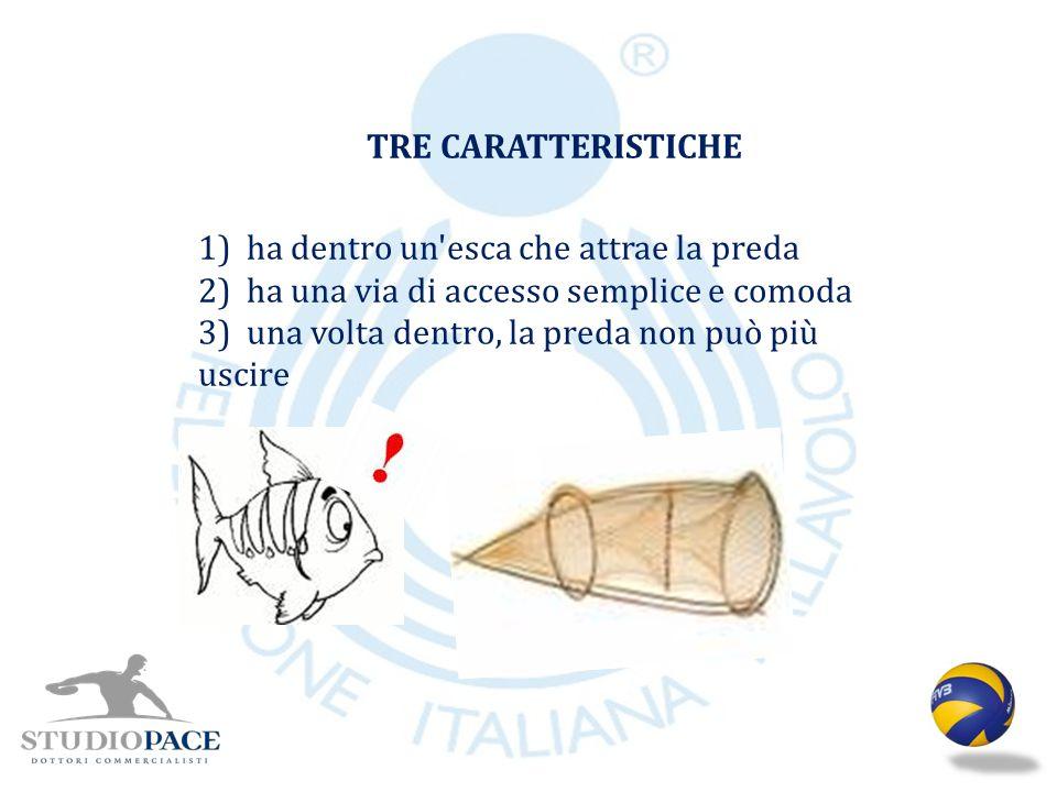 TRE CARATTERISTICHE