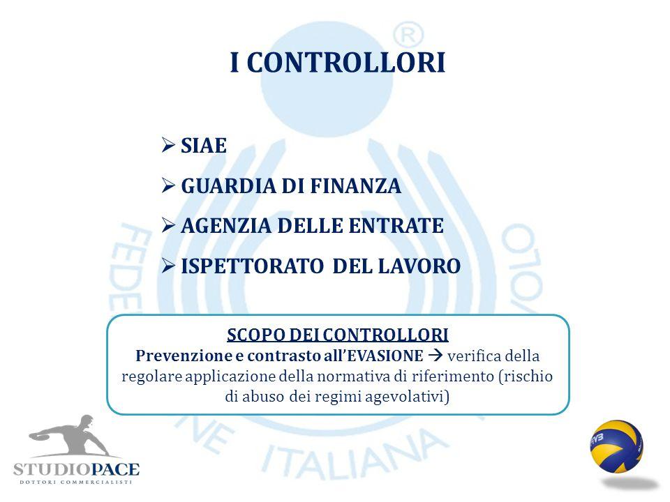 I CONTROLLORI SIAE GUARDIA DI FINANZA AGENZIA DELLE ENTRATE
