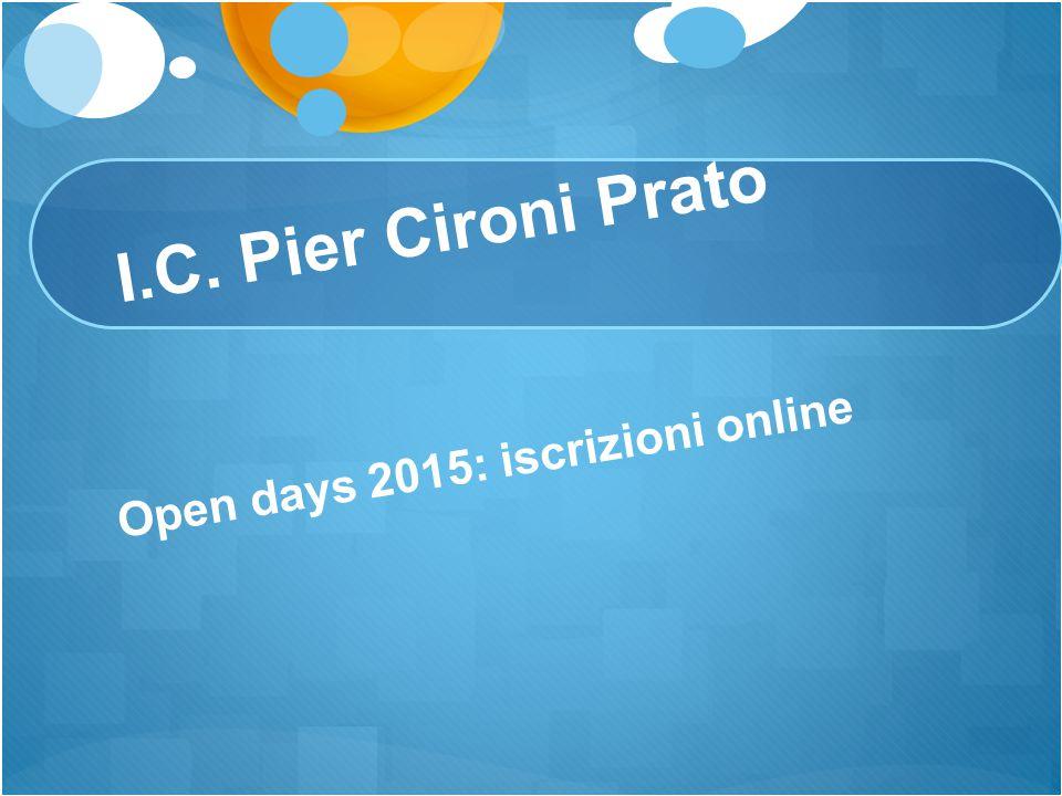 Open days 2015: iscrizioni online