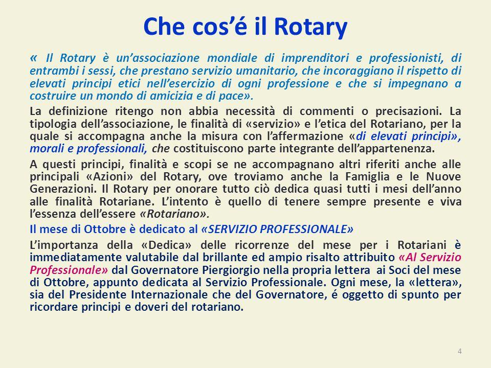 Che cos'é il Rotary