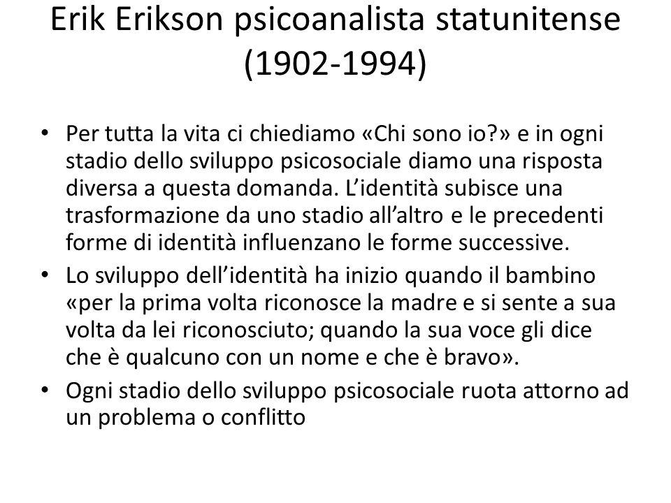 Erik Erikson psicoanalista statunitense (1902-1994)
