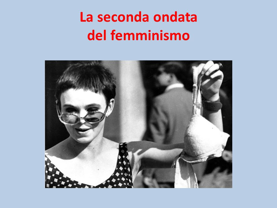 La seconda ondata del femminismo