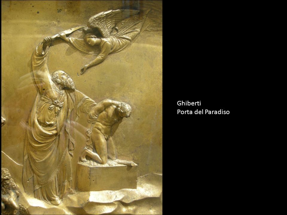Ghiberti Porta del Paradiso