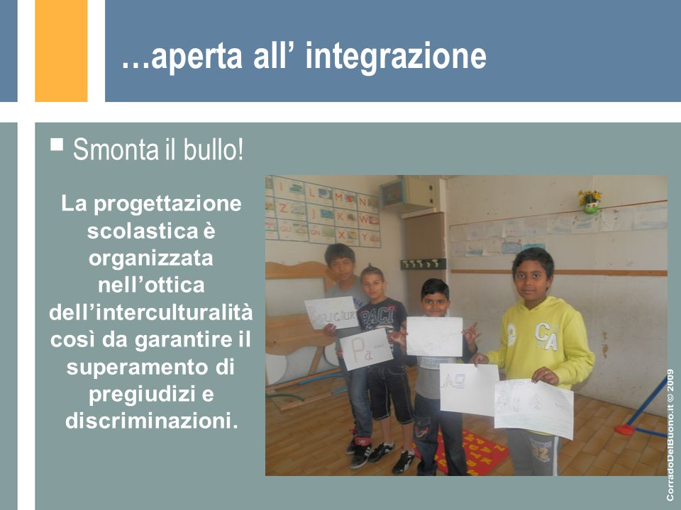 …aperta all' integrazione