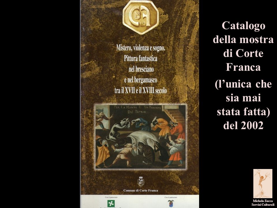 Catalogo della mostra di Corte Franca