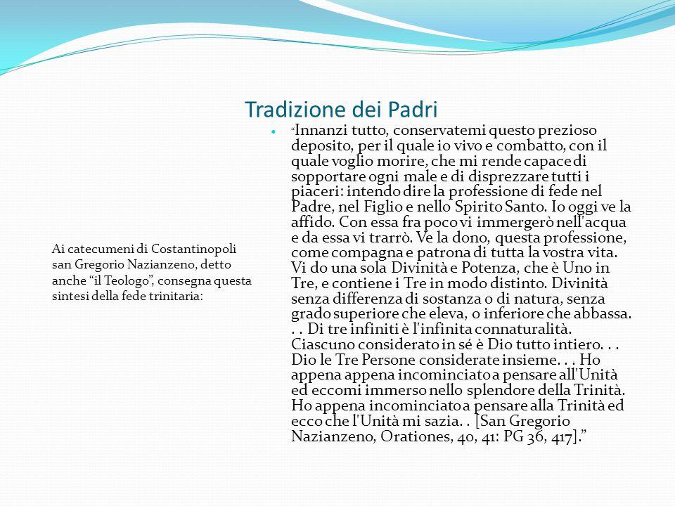 Tradizione dei Padri