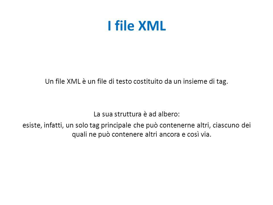 I file XML
