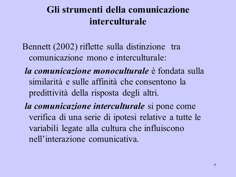 Gli strumenti della comunicazione interculturale