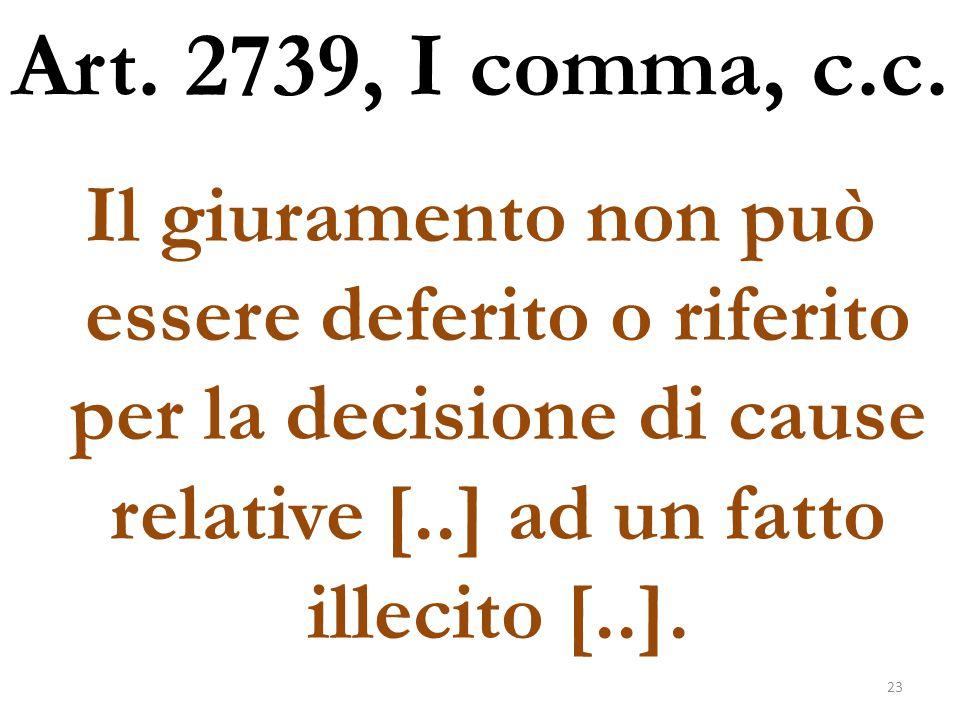 Art. 2739, I comma, c.c.