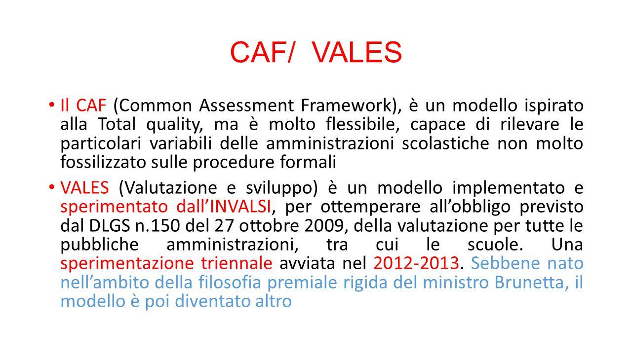 CAF/ VALES