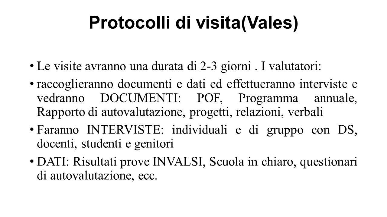 Protocolli di visita(Vales)