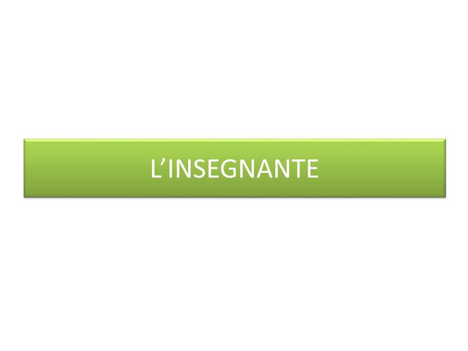 L'INSEGNANTE