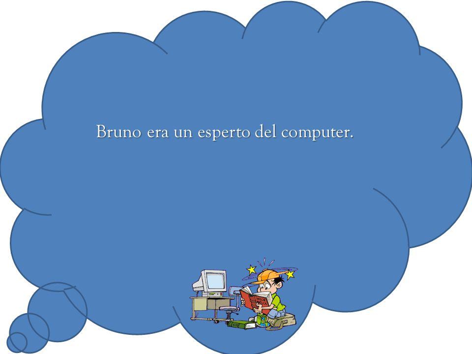 Bruno era un esperto del computer.