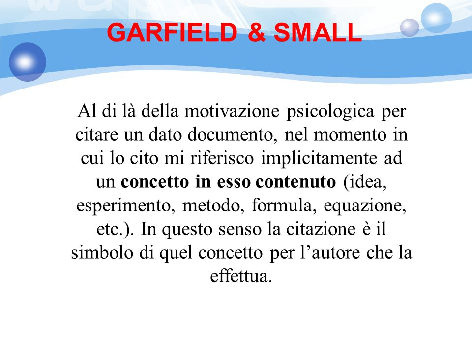 GARFIELD & SMALL