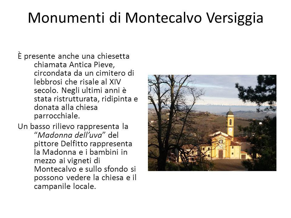 Monumenti di Montecalvo Versiggia