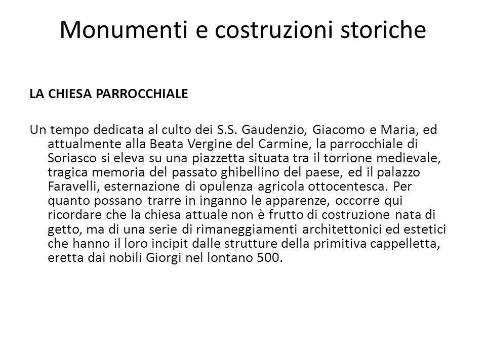 Monumenti e costruzioni storiche
