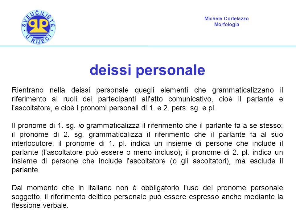 deissi personale