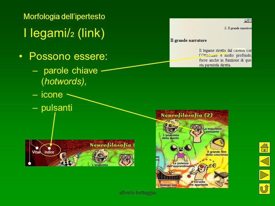 Morfologia dell'ipertesto I legami/2 (link)