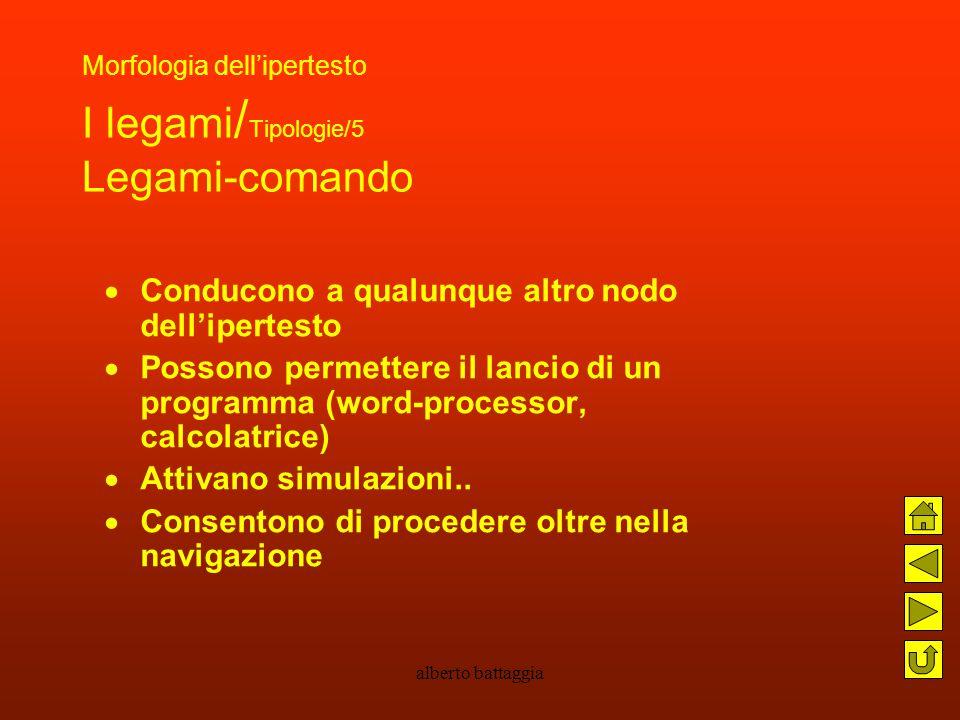 Morfologia dell'ipertesto I legami/Tipologie/5 Legami-comando