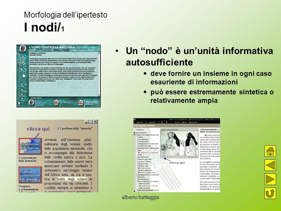 Morfologia dell'ipertesto I nodi/1