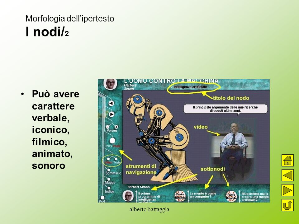 Morfologia dell'ipertesto I nodi/2