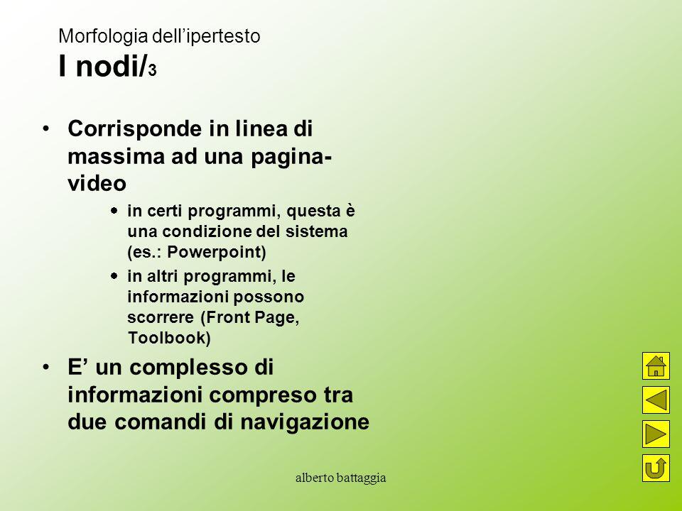 Morfologia dell'ipertesto I nodi/3