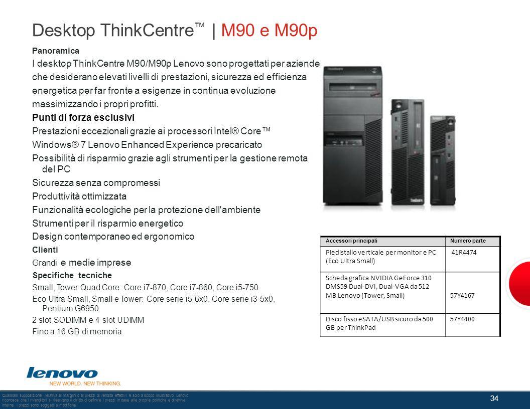 Desktop ThinkCentre™ | M90 e M90p