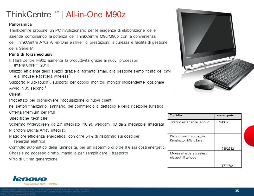 ThinkCentre ™ | All-in-One M90z