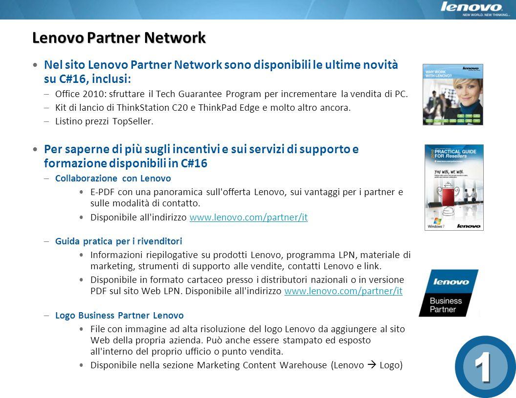 Lenovo Partner Network