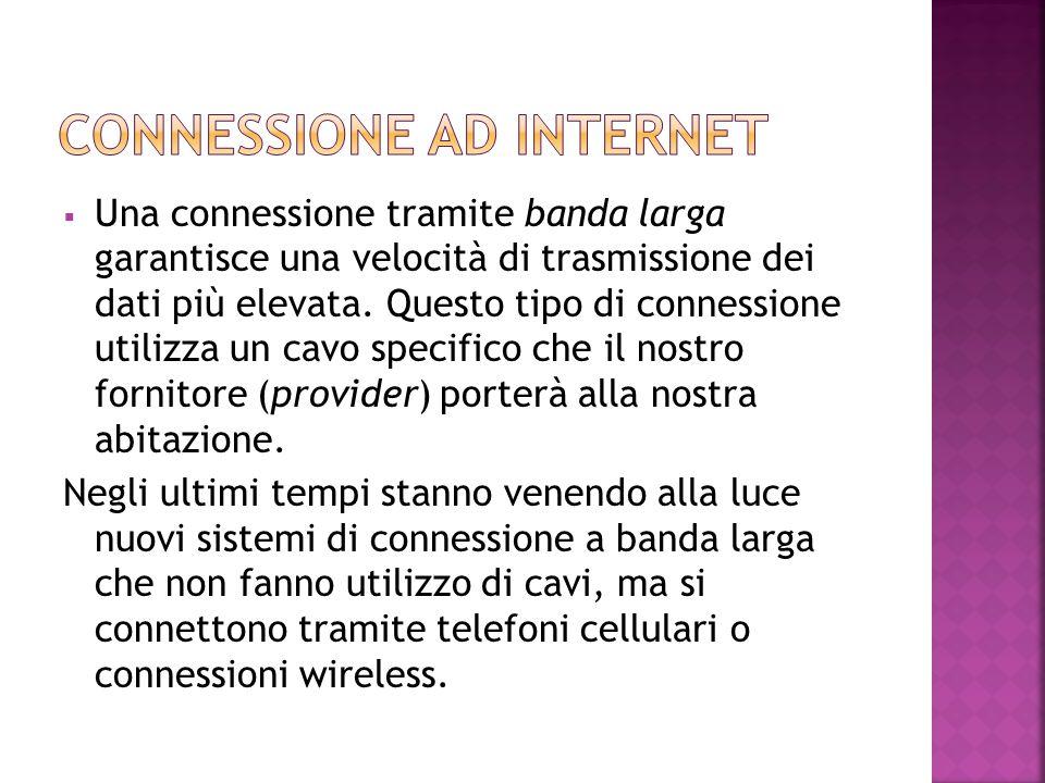 Connessione ad Internet