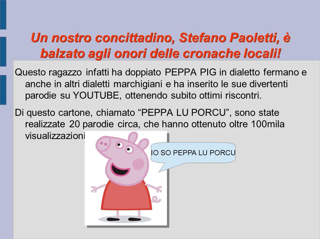 Un nostro concittadino, Stefano Paoletti, è balzato agli onori delle cronache locali!