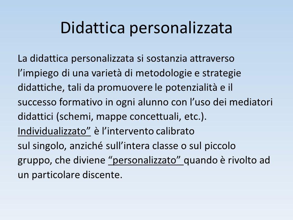 Didattica personalizzata