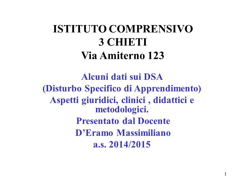ISTITUTO COMPRENSIVO 3 CHIETI Via Amiterno 123
