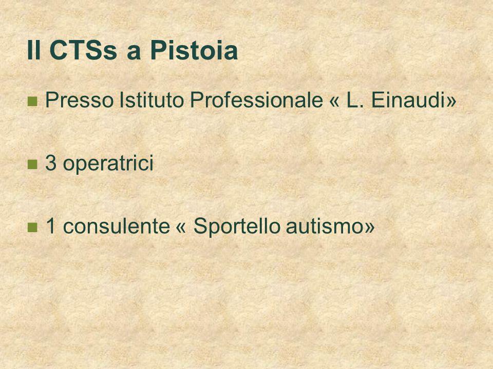 Il CTSs a Pistoia Presso Istituto Professionale « L. Einaudi»