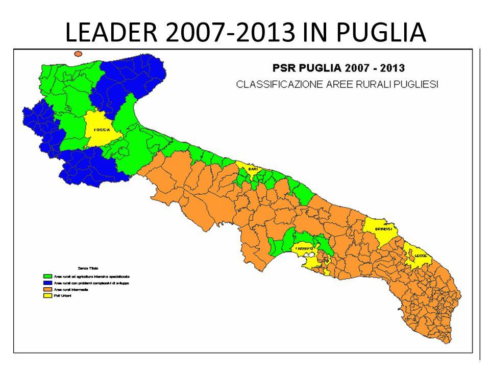 LEADER 2007-2013 IN PUGLIA