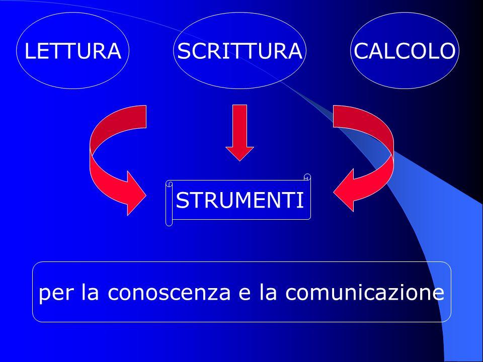 per la conoscenza e la comunicazione