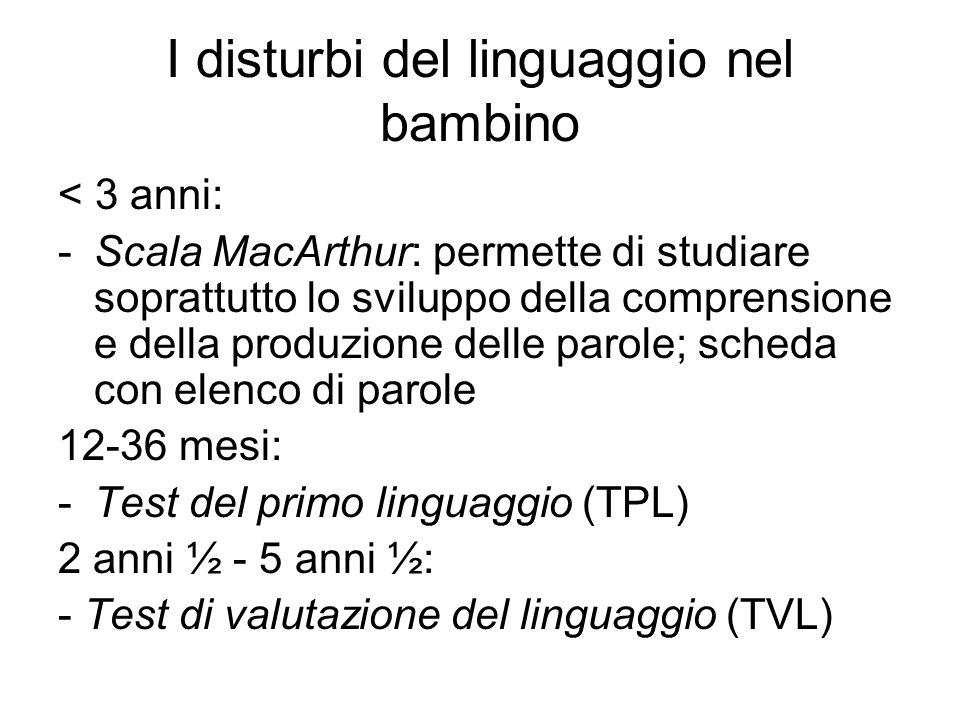 I disturbi del linguaggio nel bambino