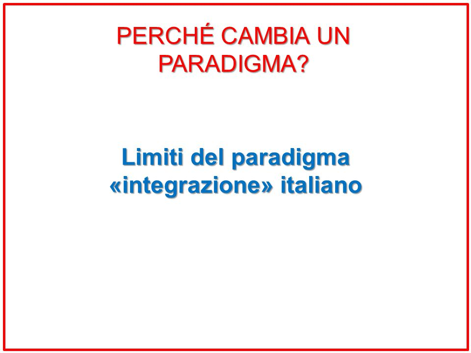 «integrazione» italiano