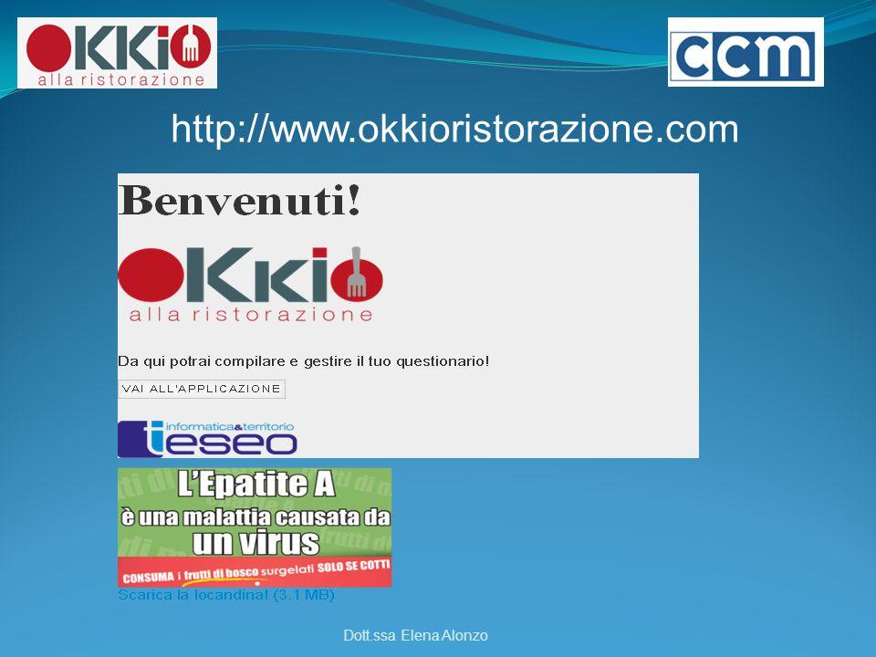 http://www.okkioristorazione.com Dott.ssa Elena Alonzo