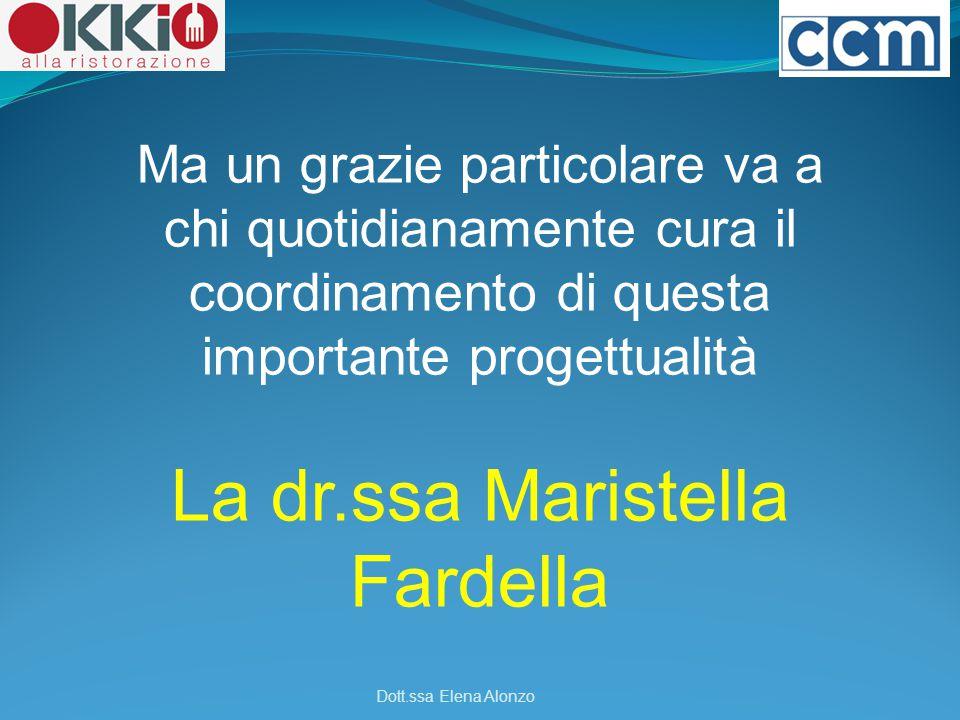 La dr.ssa Maristella Fardella