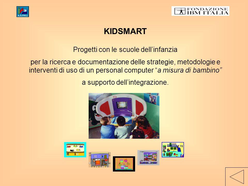 KIDSMART Progetti con le scuole dell'infanzia