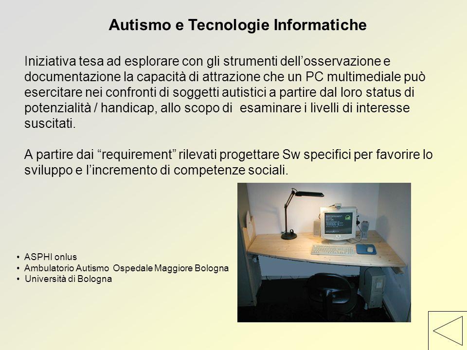 Autismo e Tecnologie Informatiche