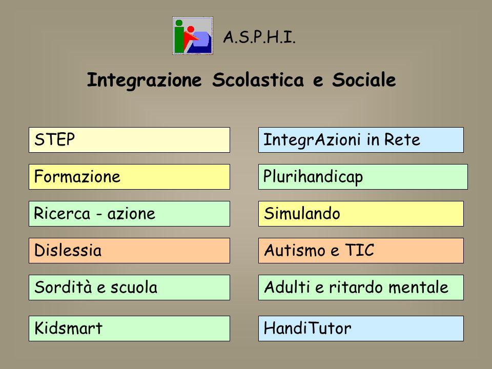Integrazione Scolastica e Sociale