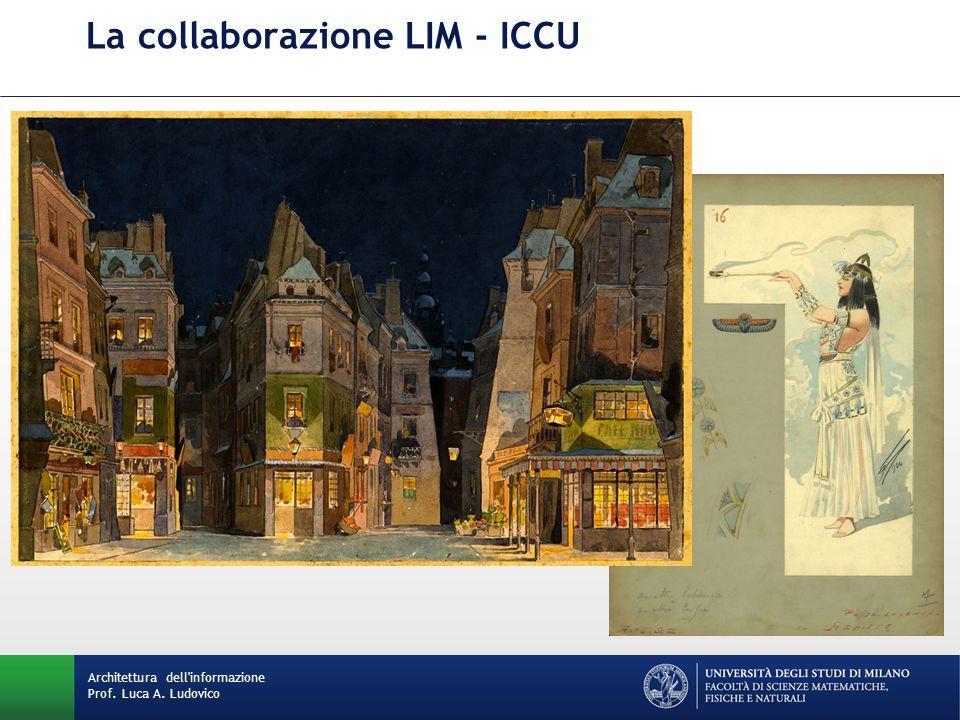 La collaborazione LIM - ICCU