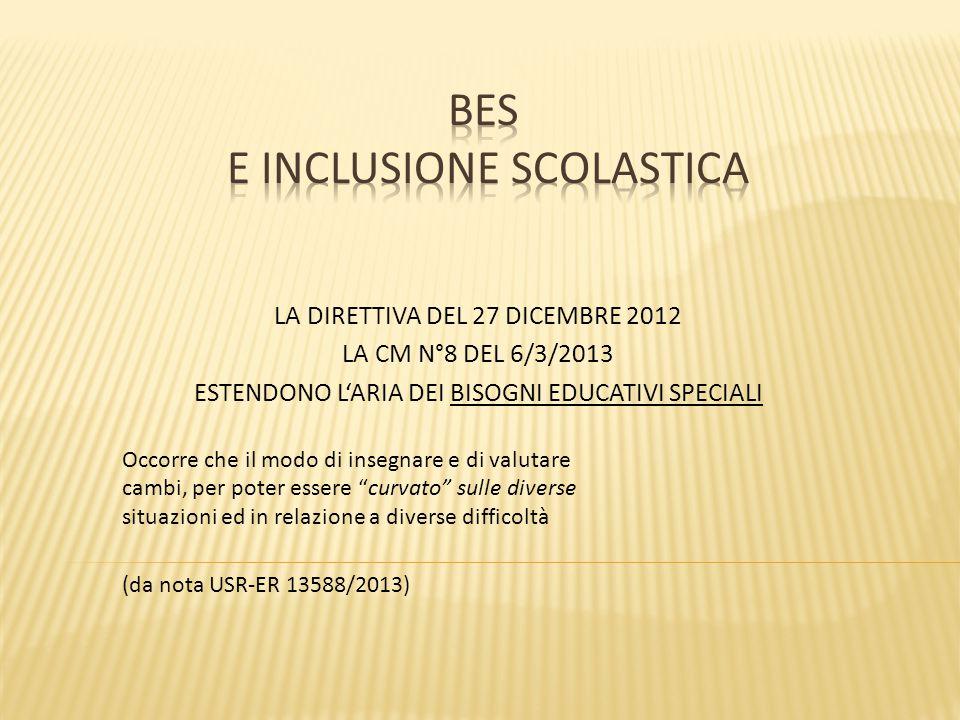 BES E INCLUSIONE SCOLASTICA