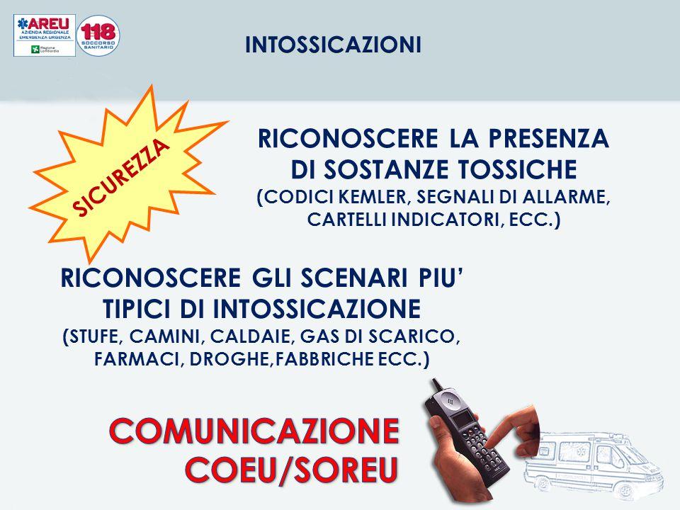 COMUNICAZIONE COEU/SOREU