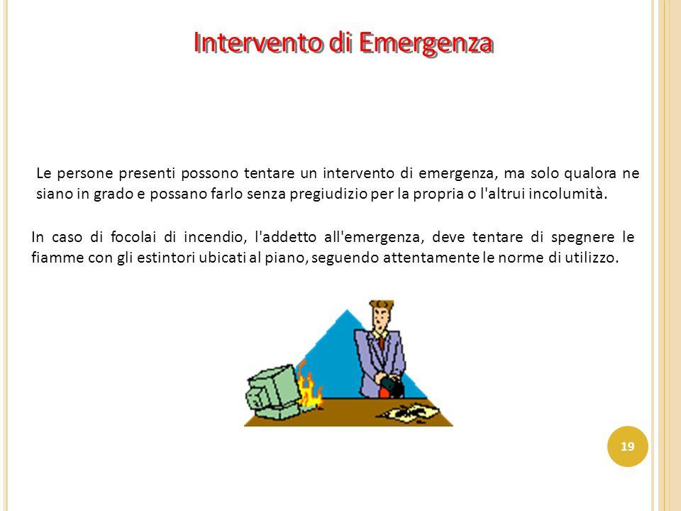 Intervento di Emergenza