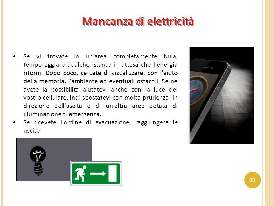 Mancanza di elettricità