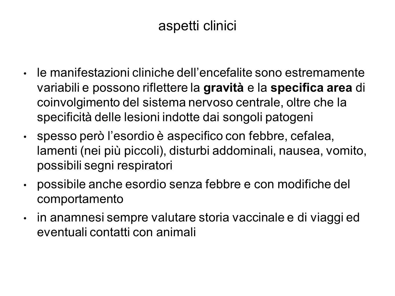 aspetti clinici